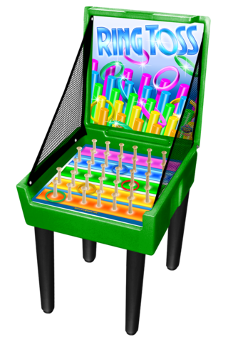 Ring Toss Carnival Case Game